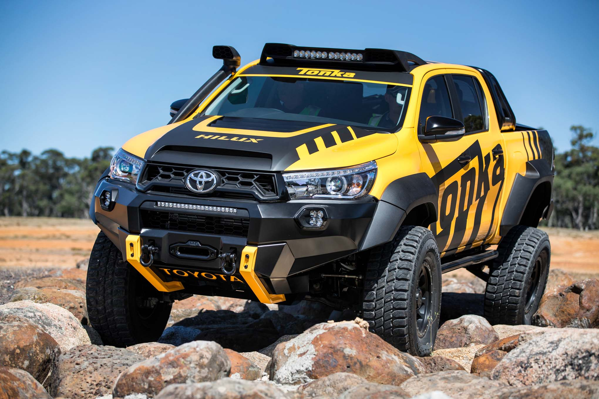 The Toyota Hilux Tonka Concept You Ve Always Dreamed About