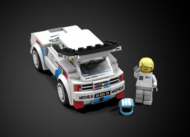 Group B Rally in Lego? What's Not To Love? - The Drive