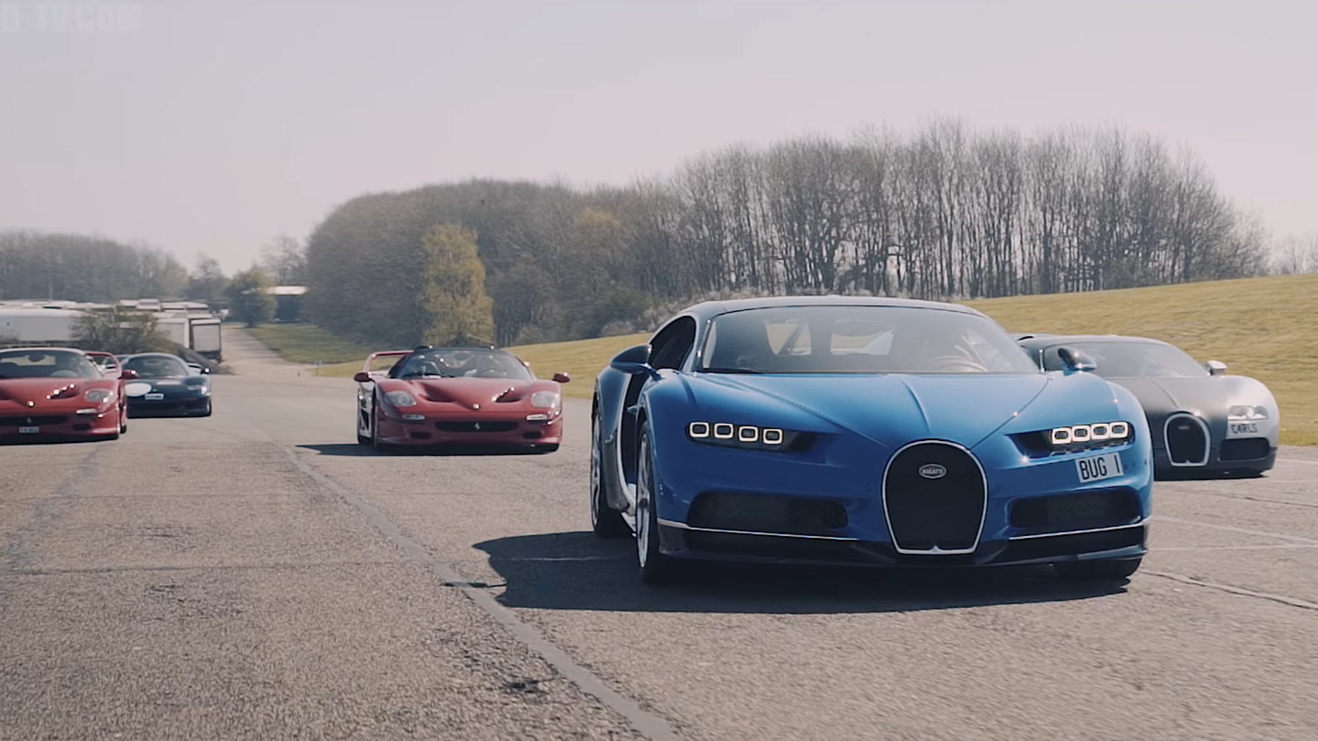 Here S What A Million Supercar Photo Shoot Looks Like The Drive