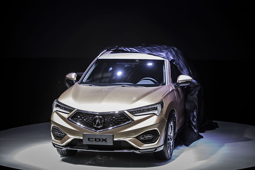 2018 acura cdx.  2018 bloomberggetty images inside 2018 acura cdx