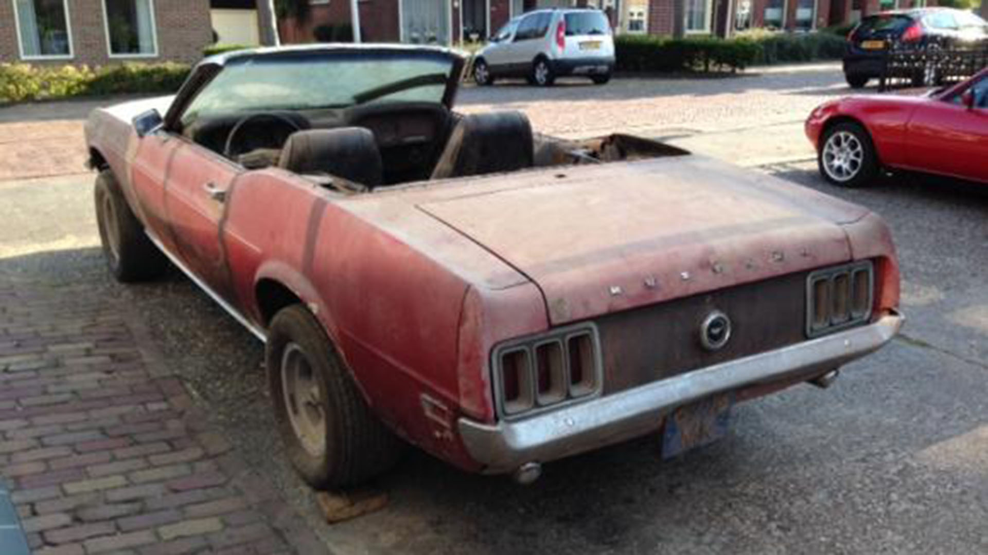 A 1970 Awd Ford Mustang Convertible Is The Latest Incredible Barn Am Looking For V8 Wiring Harness Classicsnl