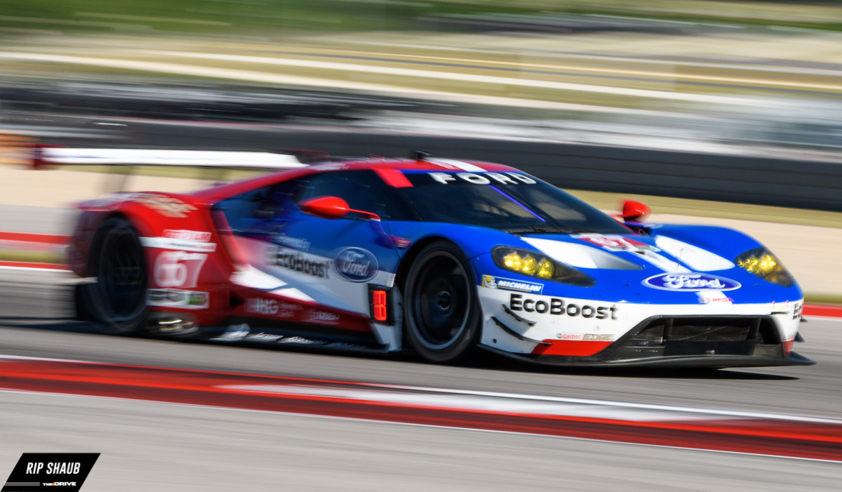 Chip Ganassi Racings Ford Gt At Circuit Of The Americas During The Imsa Advance Auto Parts Sportscar Showdown Rip Shaub All Rights Reserved