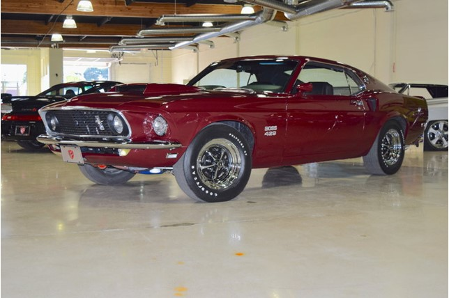 For Sale 1969 Ford Mustang Boss 429 For 429 900 The Drive