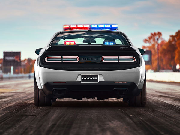 Dodge Challenger SRT Demon Police Concept Is a Cop's Dream ...