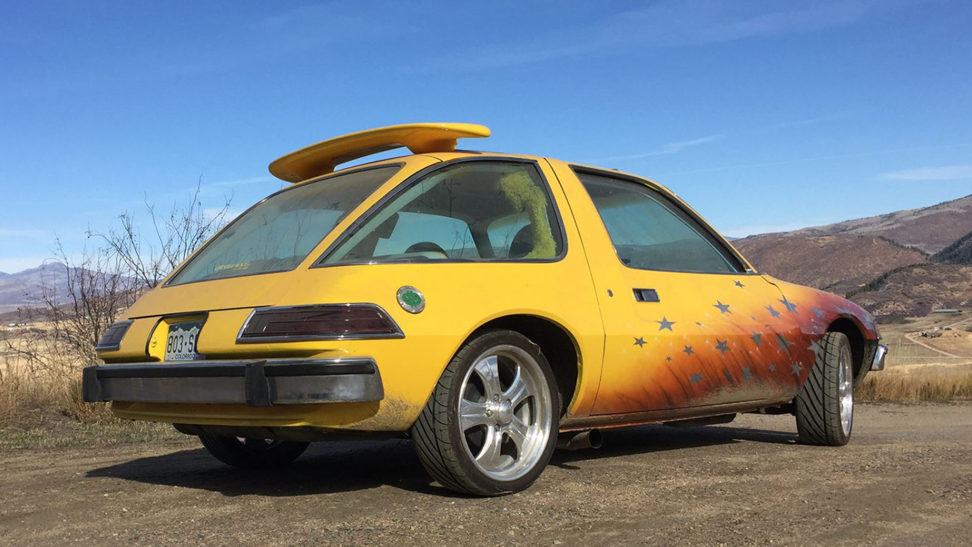 West Coast Customs Cars For Sale >> This Pimp My Ride AMC Pacer for Sale in Denver Has Seen ...