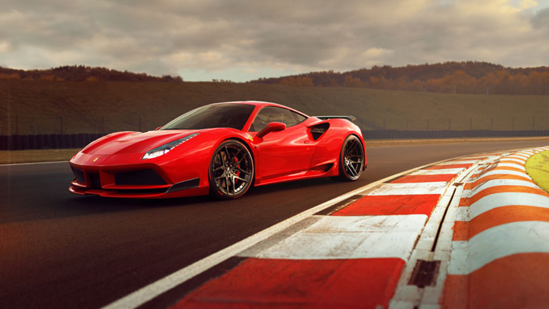 The Novitec N Largo Is A Widebody Ferrari 488 With Shades