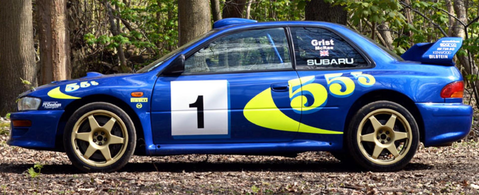 Late Rally Hero Colin McRae\'s Subaru Impreza Rally Car Sells for ...