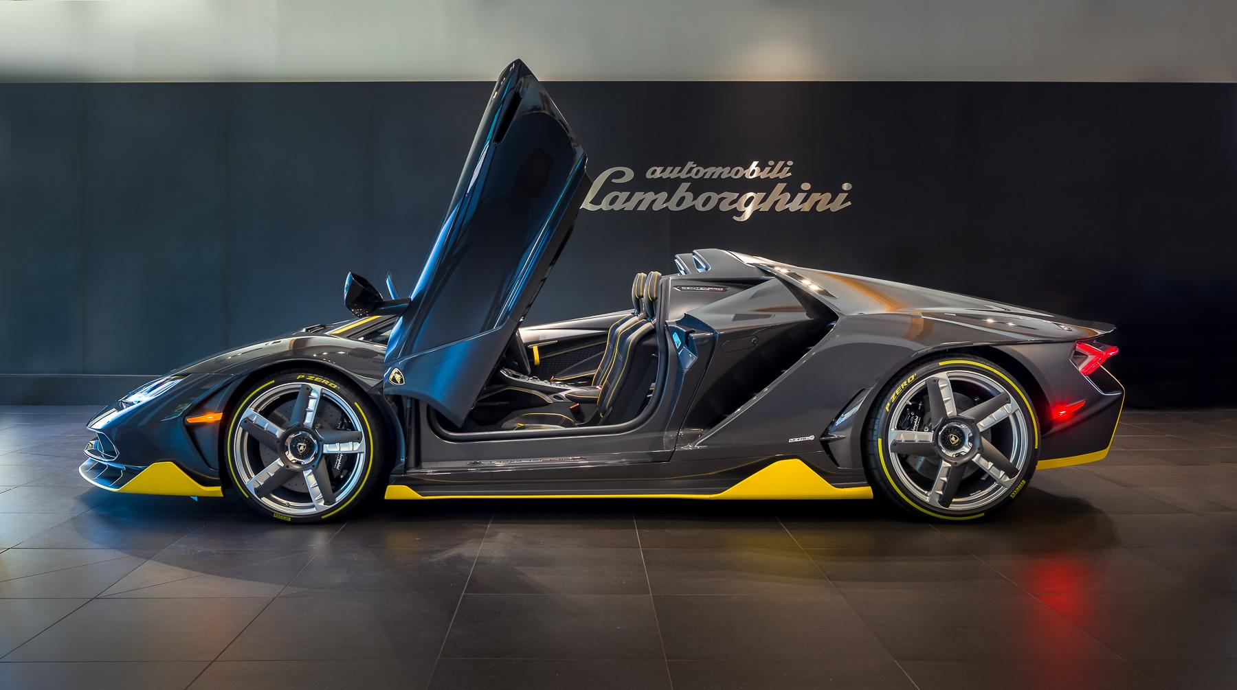 world's first $2.3 million lamborghini centenario roadster has been