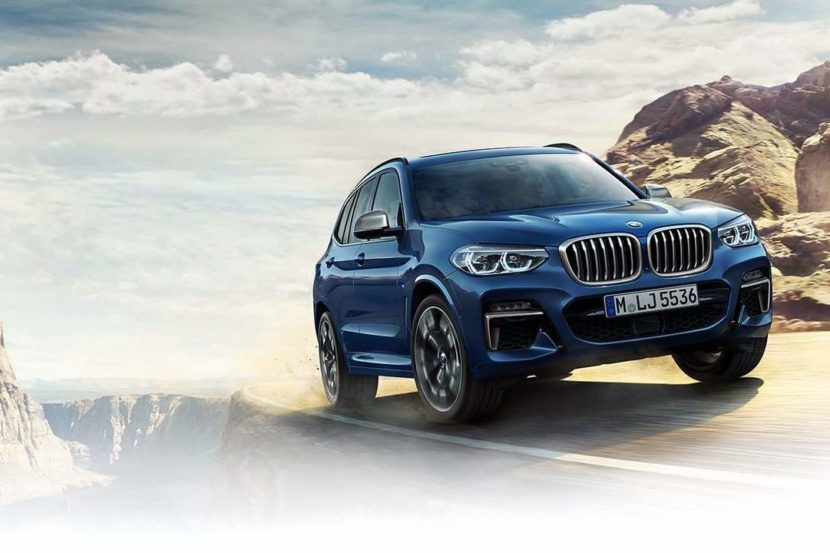 2018 Bmw X3 Pictures Leaked To The Public The Drive