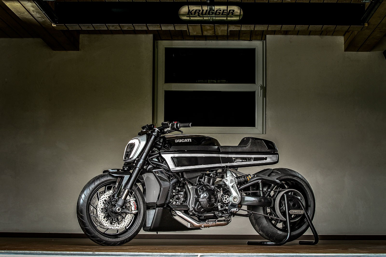 This Custom Ducati Xdiavel Is More Cafe Racer Than Cruiser