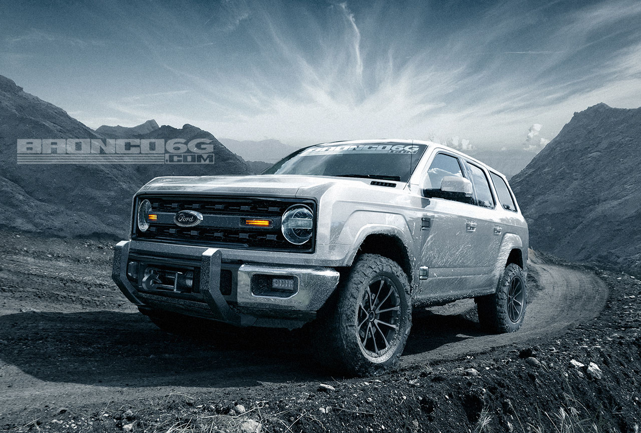 Bronco6g.com & 4-Door 2020 Ford Bronco Concept Isn\u0027t Real Still Awesome ... Pezcame.Com