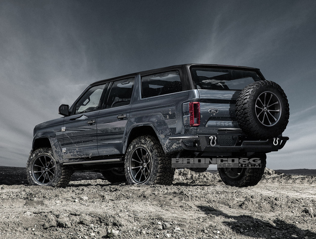4-Door 2020 Ford Bronco Concept Isn't Real, Still Awesome ...