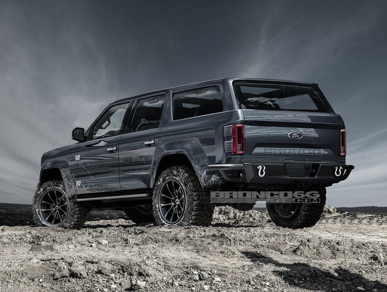 4 Door 2020 Ford Bronco Concept Isnt Real Still Awesome