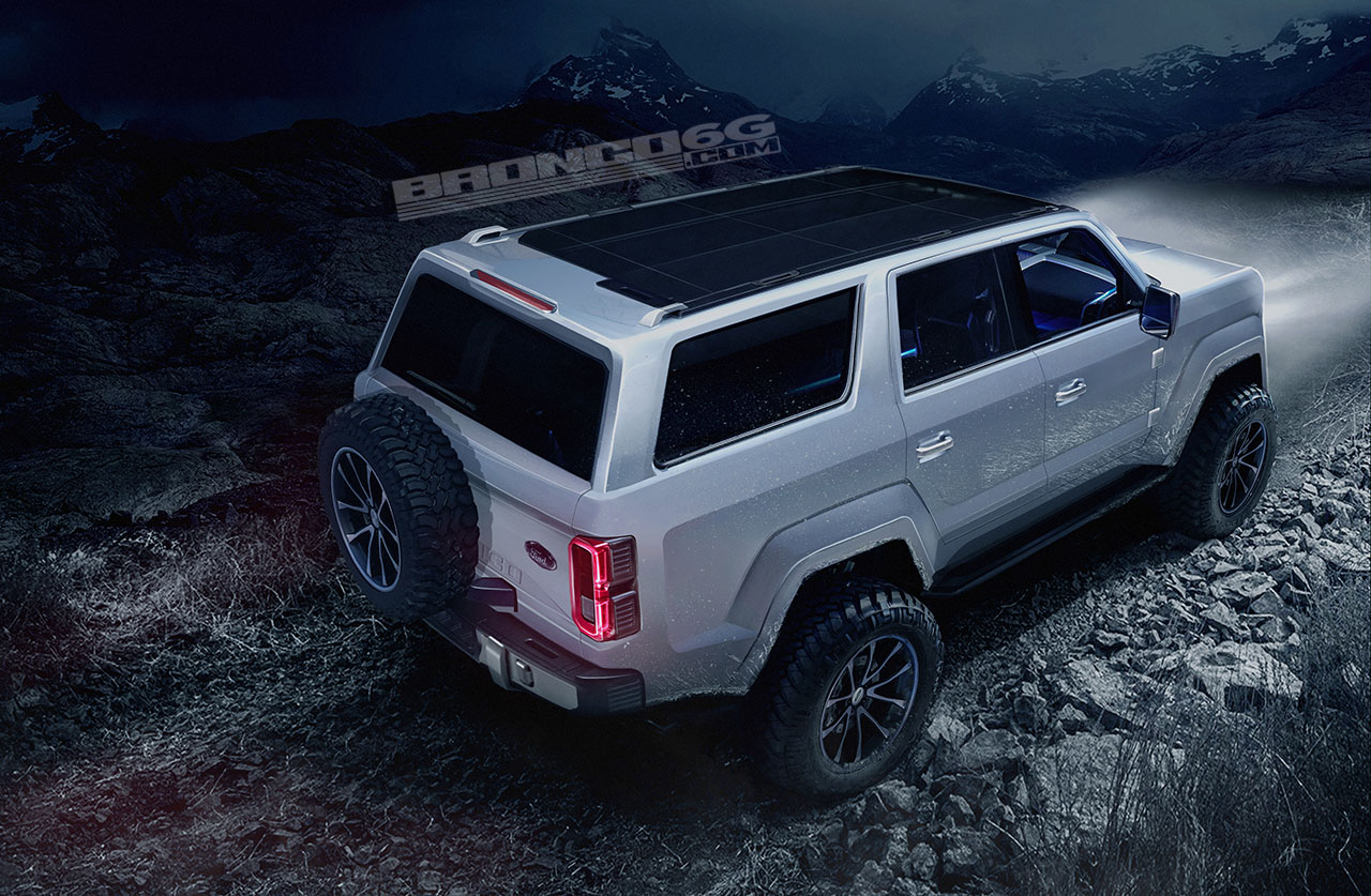 4 Door 2020 Ford Bronco Concept Isn T Real Still Awesome Regardless