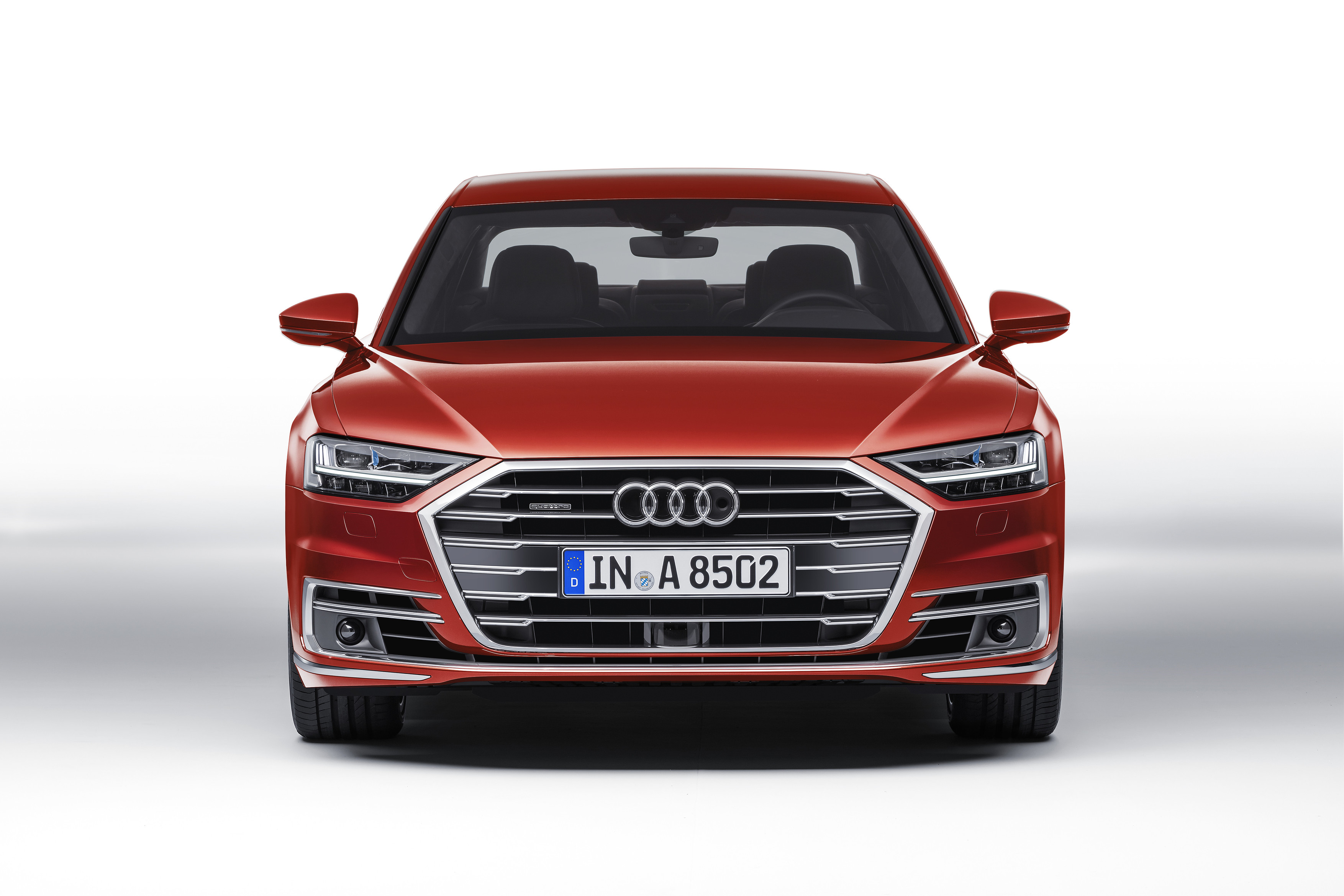 2018 audi a8 debuts packed with future facing tech the drive. Black Bedroom Furniture Sets. Home Design Ideas