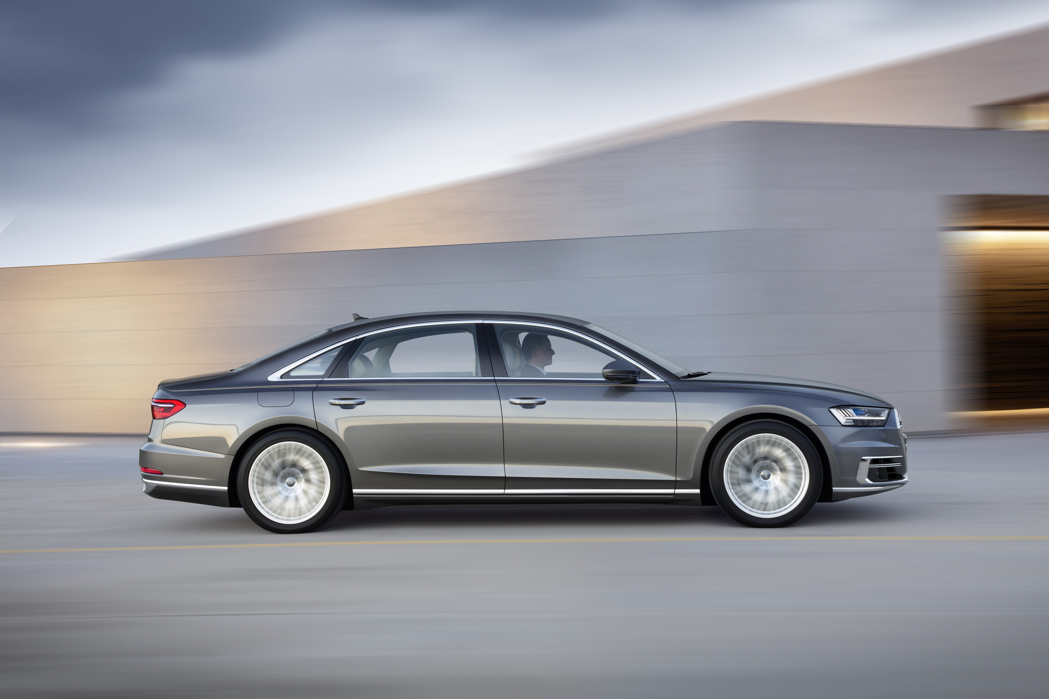 Audi A Debuts Packed With FutureFacing Tech The Drive - 2018 audi a8