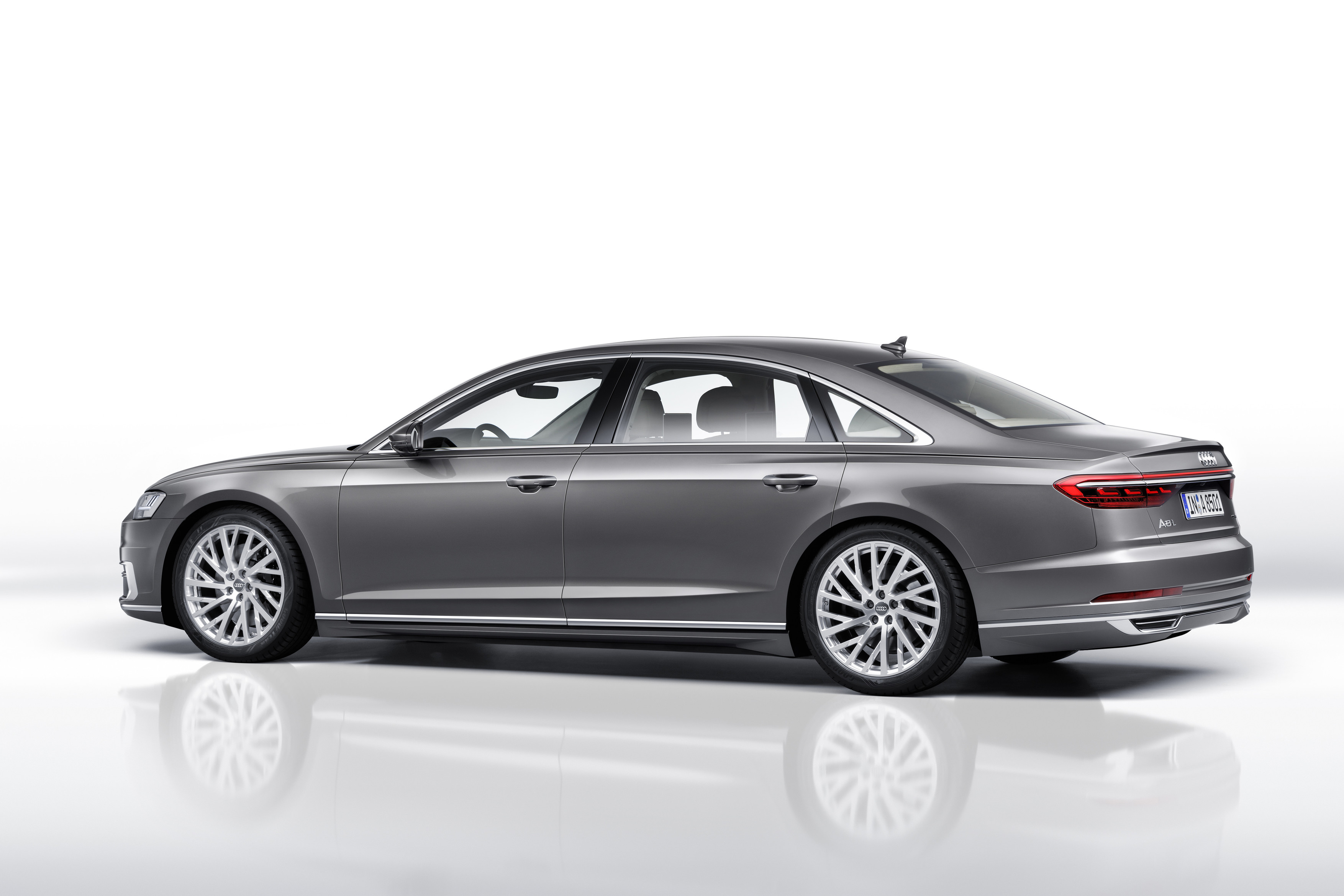 2018 audi a8 debuts packed with future facing tech the drive sciox Image collections