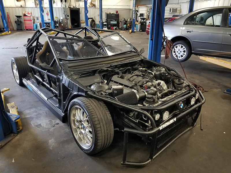 This Chopped Up BMW E39 540i is the Street-Legal Go Kart You Need