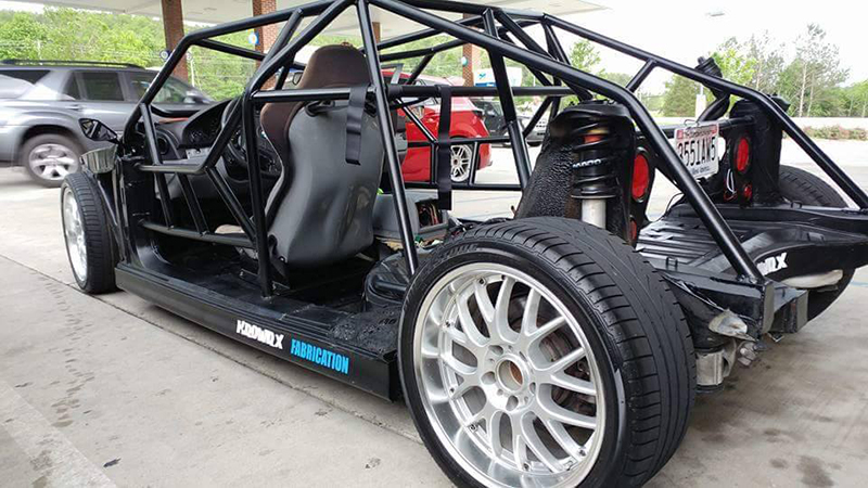 This Chopped Up BMW E39 540i is the Street-Legal Go Kart You