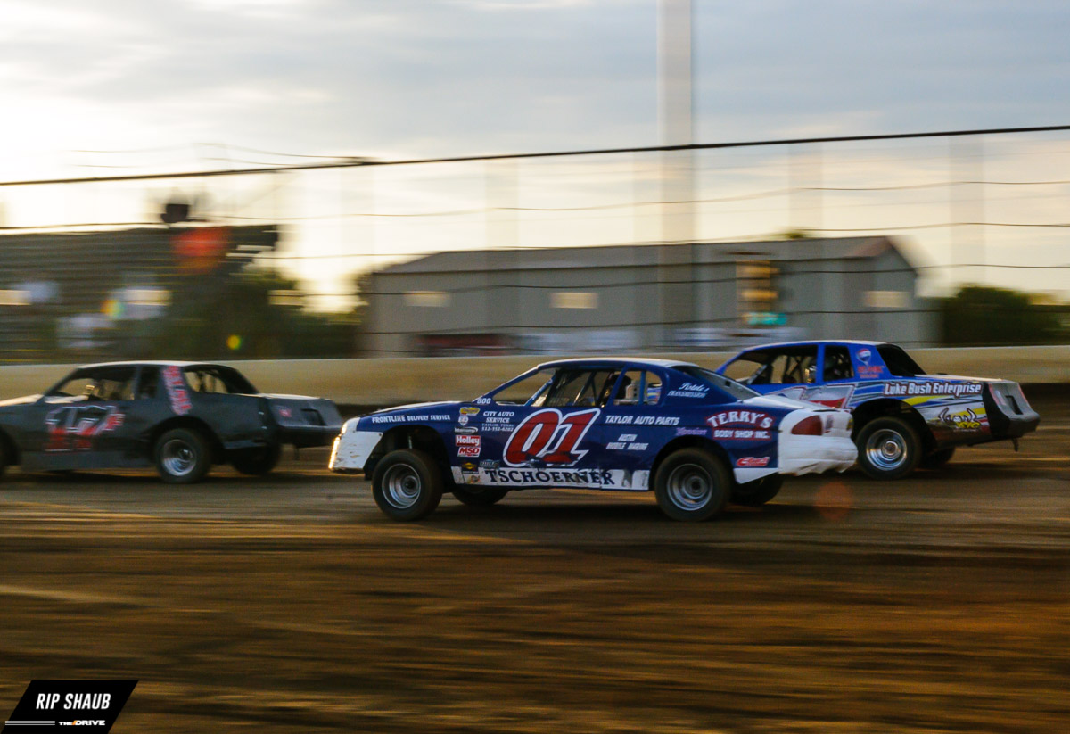 Dirt track racing at Cotton Bowl Speedway - The Drive