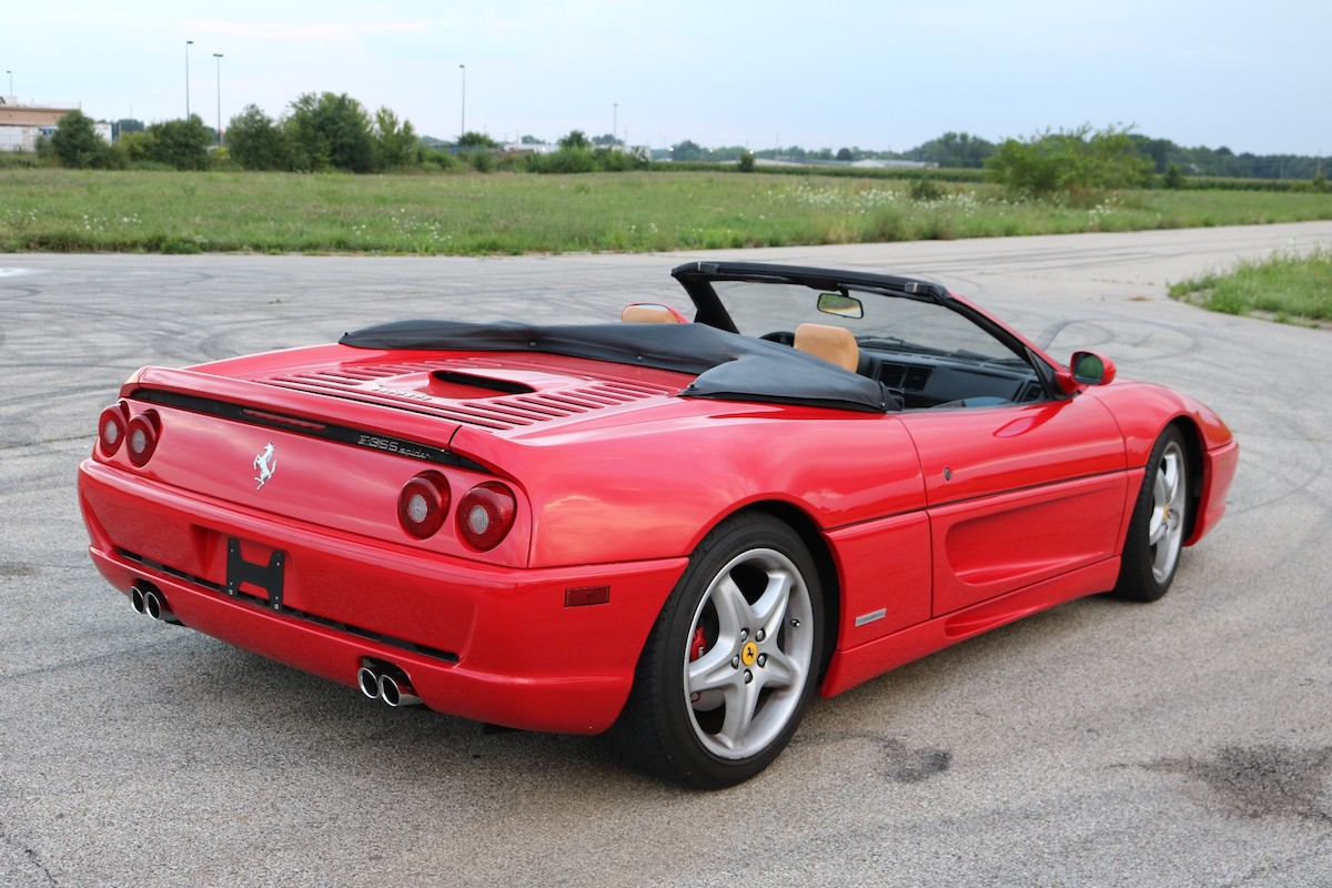 This Ferrari F355 Spider on Bring a Trailer Is a Time Machine to the