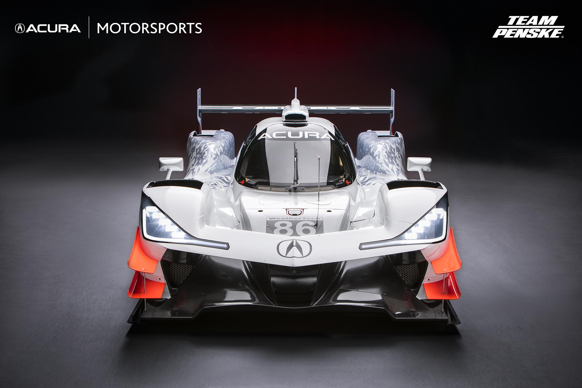Team Penske Unveils 2018 Acura Arx 05 Dpi Race Car For Imsa