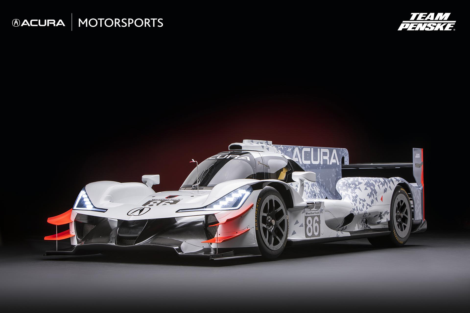 Image result for team penske acura race car
