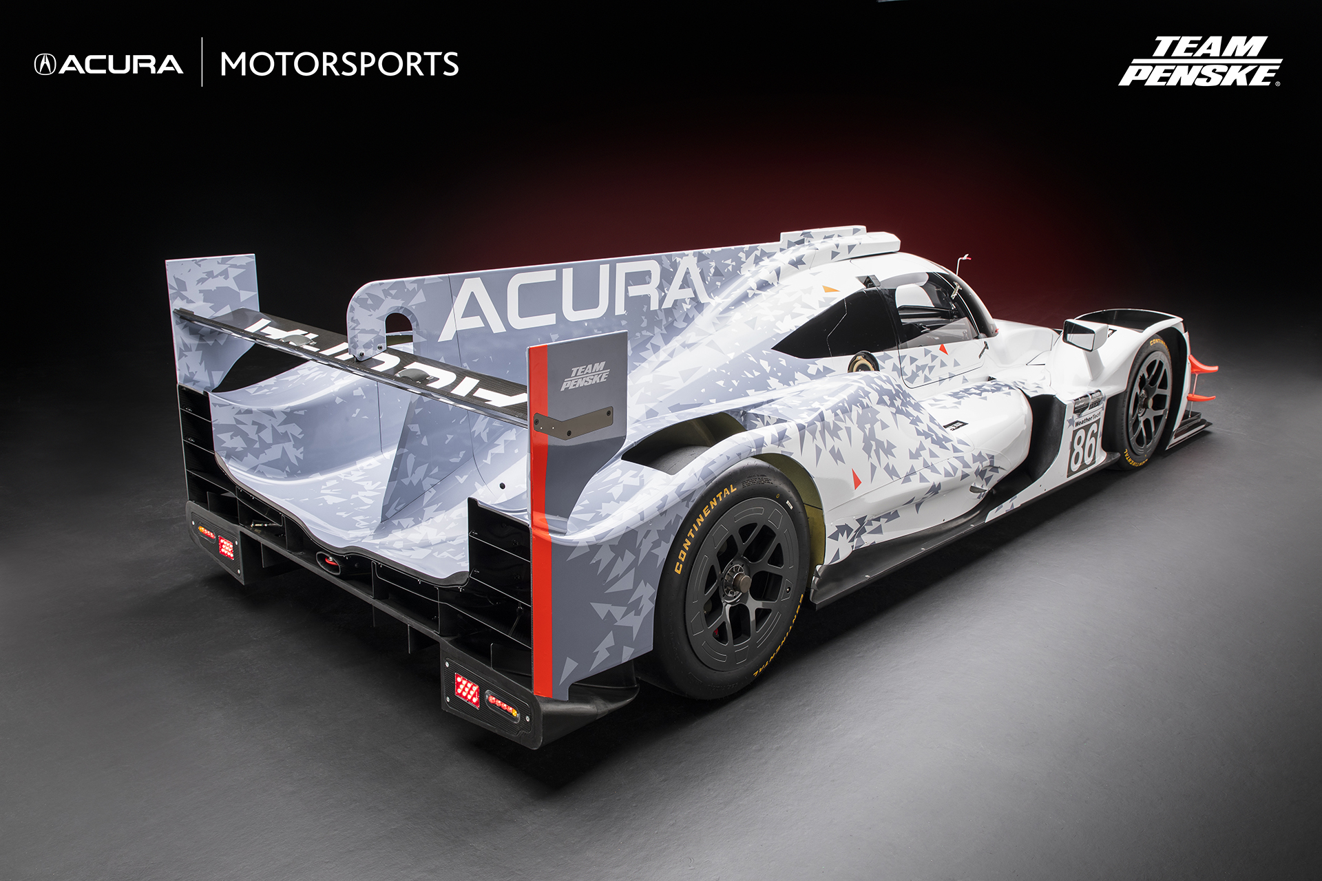 team penske unveils 2018 acura arx 05 dpi race car for imsa