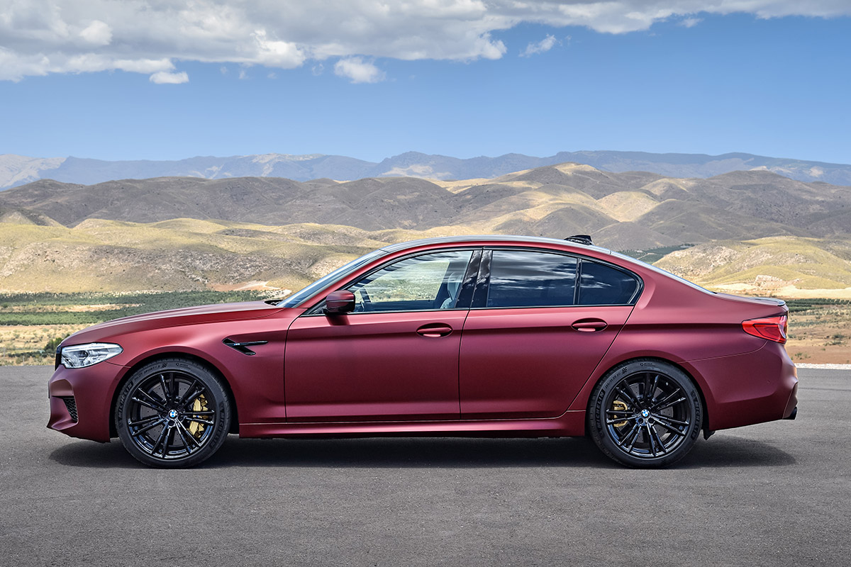 AllNew BMW M Is Exactly The HP AWD Sport Sedan We - All bmw