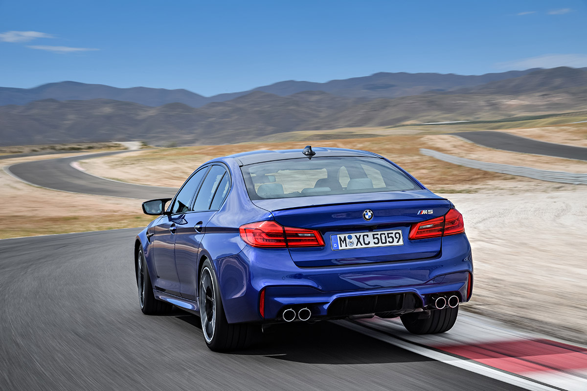 All New 2018 Bmw M5 Is Exactly The 600 Hp Awd Sport Sedan