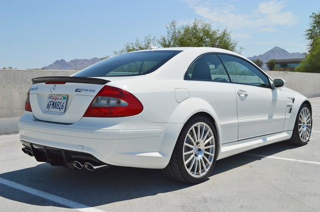 This 850 Mile Mercedes Benz Clk63 Amg Black Series Costs