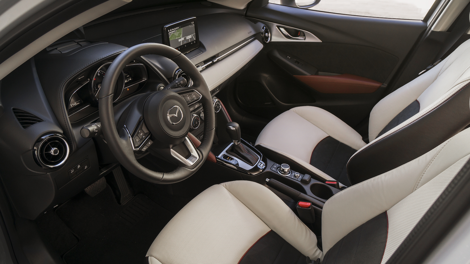 The 2018 mazda cx 3 starts at 20 110 the drive for Mazda cx 3 interieur