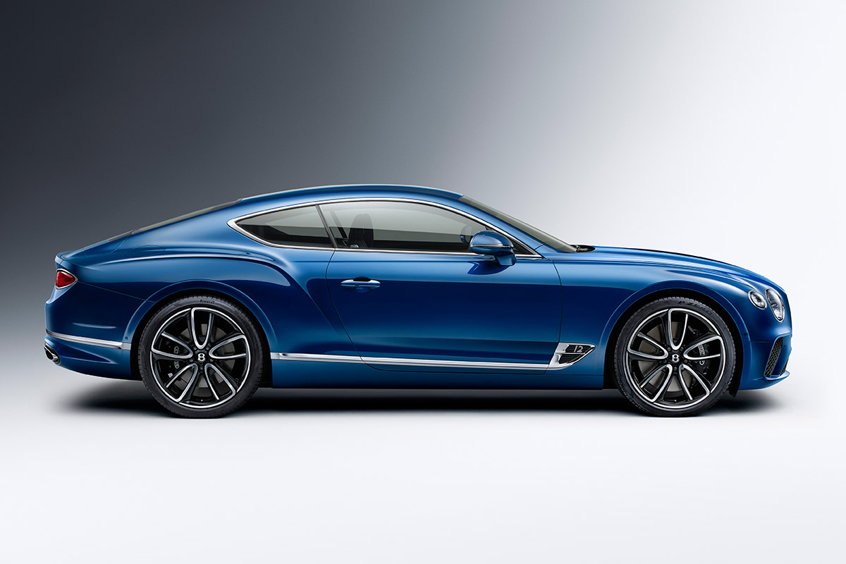 31f97e6938 All-New Bentley Continental GT Is a 626-HP Gran Turismo ...