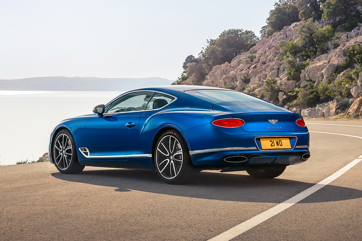 All-New Bentley Continental GT Is A 626-HP Gran Turismo