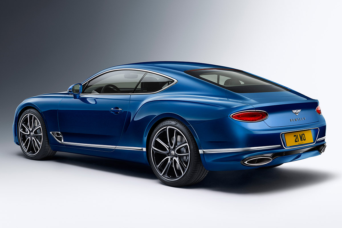 All New Bentley Continental Gt Is A 626 Hp Gran Turismo