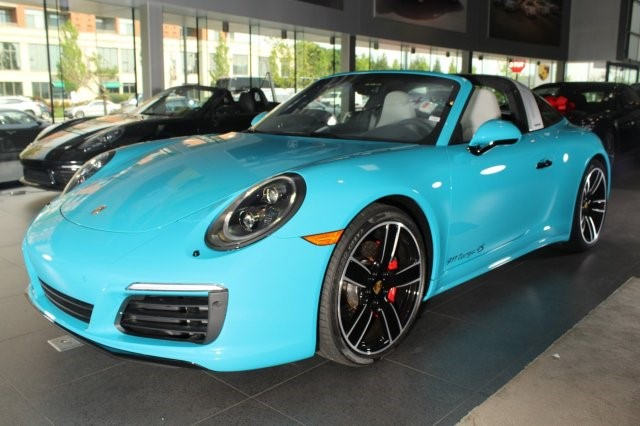The Only Miami Blue Porsche 911 Targa 4s In America Is For