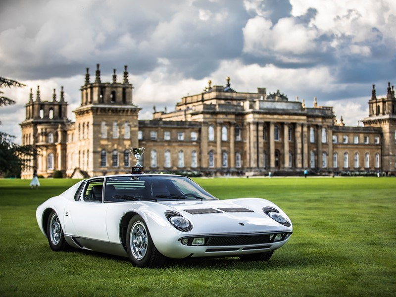 This Immaculate Lamborghini Miura Is The Star Of Uk S Salon Priv