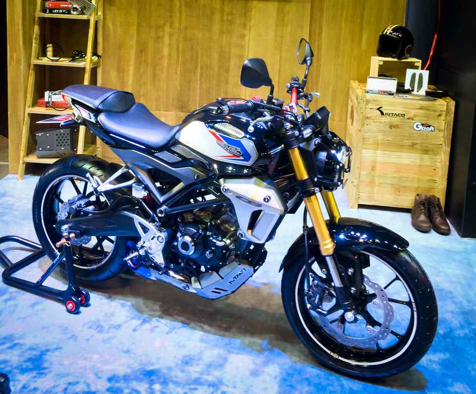Cafe Racer Motorcycle For Sale >> Check Out This Cool Honda CB150R We Can't Have in the U.S. - The Drive