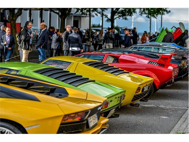 Lamborghini S First Concours D Elegance Honors Famed Swiss Architect