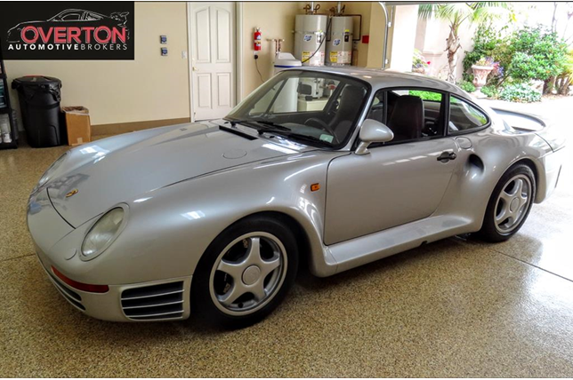 Theres An Ultra Rare Porsche 959 Komfort For Sale For 13 Million