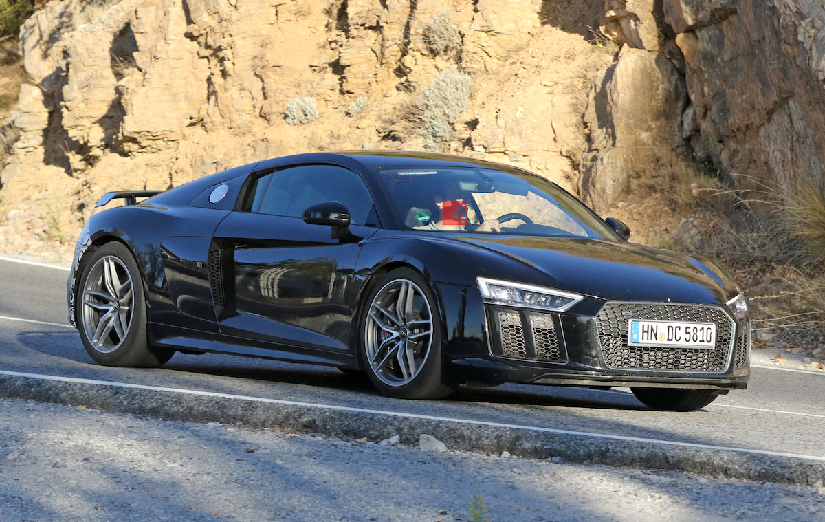 More Powerful Audi R8 May Have Been Spotted In Testing