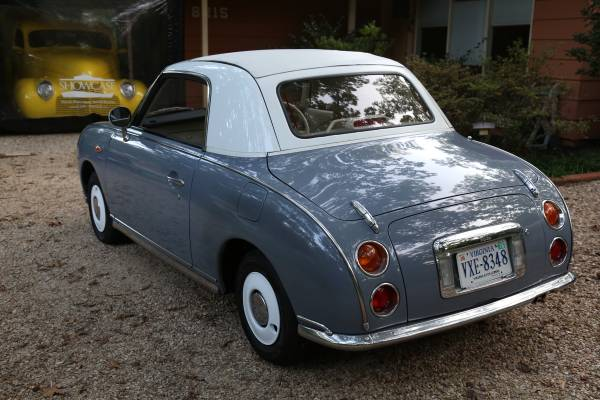 There's an Adorable Nissan Figaro Import For Sale in ...