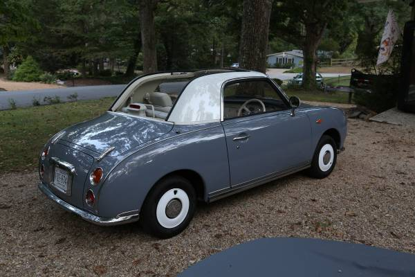Theres An Adorable Nissan Figaro Import For Sale In Virginia The