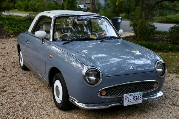 There's an Adorable Nissan Figaro Import For Sale in Virginia - The