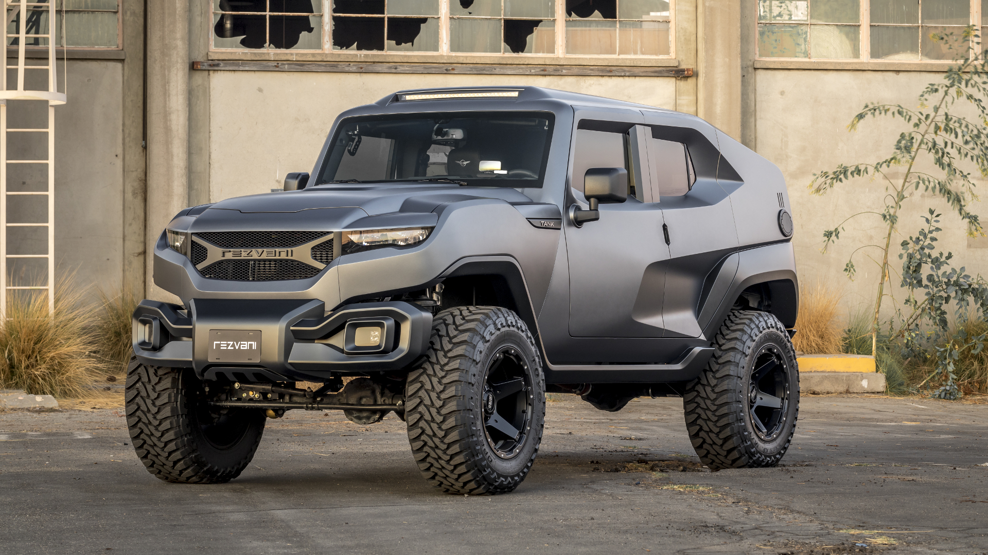 The Rezvani Tank Would Get You Through The Zombie Apocalypse Just - Cool zombie cars