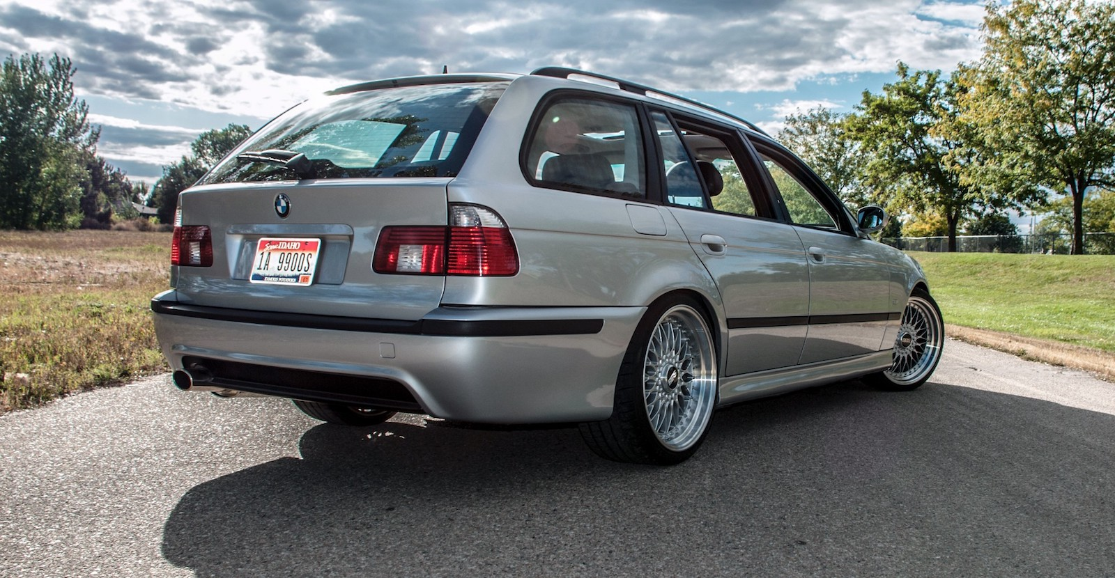 This BMW 5-Series Wagon is Powered by a 6 0-Liter LS2 Engine