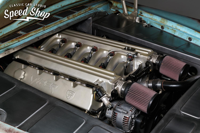 This Chrysler Rat Rod Has A Viper V Under Its Rusty - Chrysler shop