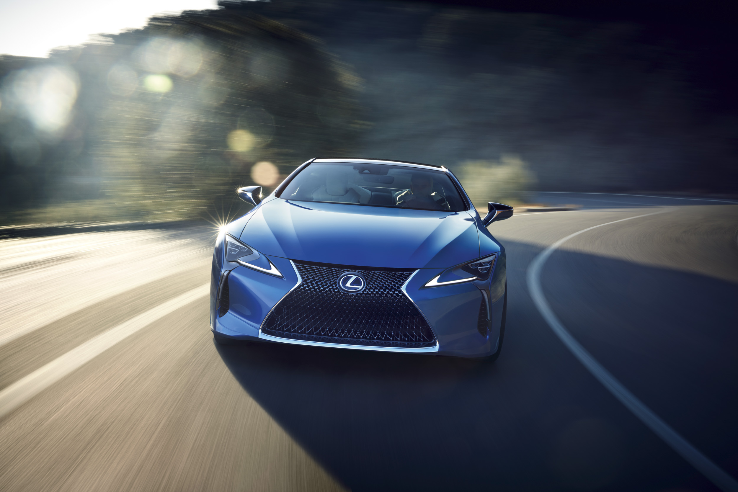 The Lexus Lc S Blue Paint Took 15 Years To Develop The Drive