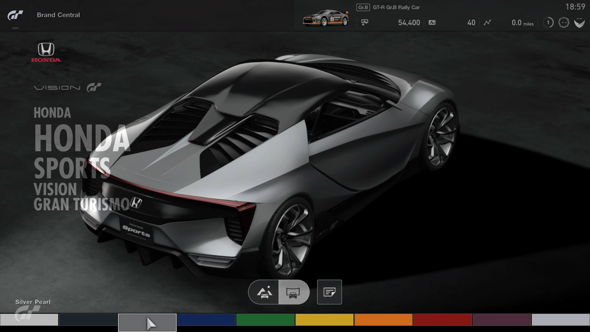 Honda S Baby Nsx Patent Was Actually Its Vision Gt Concept Car