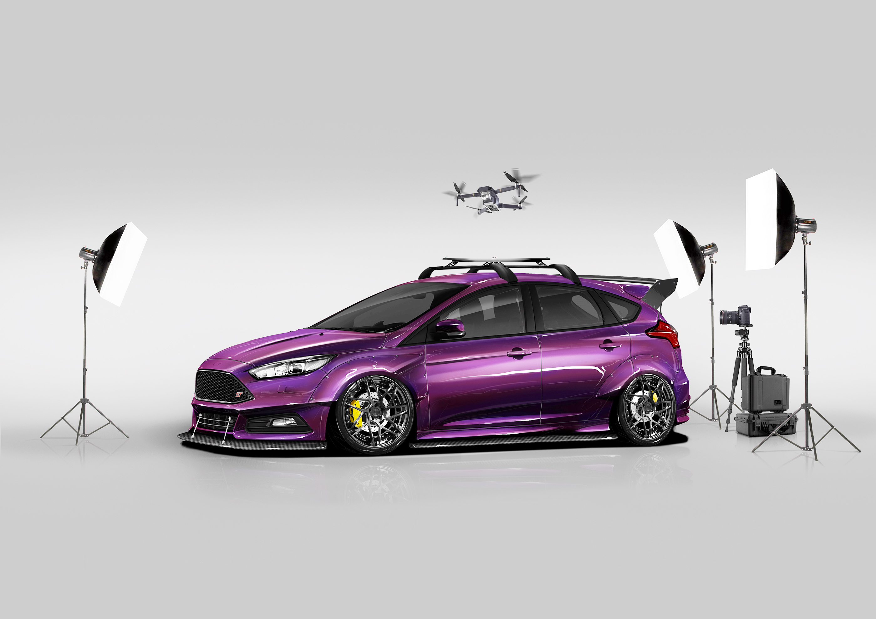 Check Out These Custom Ford Focus St And Rs Models Coming To Sema